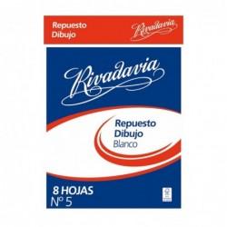 REPUESTO P/DIBUJO Nº 5 8 HS...